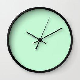 Matching Mint Green Wall Clock