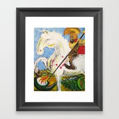 Sao Jorge Framed Art Print