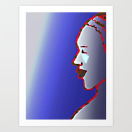 LUZ - LIGHT Art Print
