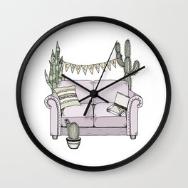 Couchella Wall Clock