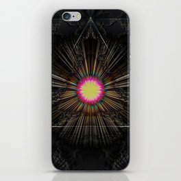 Triangle of light. iPhone Skin