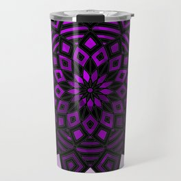 Purple Star | Tam Tam | Mandhala Travel Mug