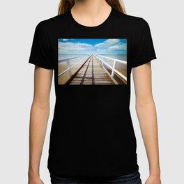 Boardwalk on the Beach T-shirt