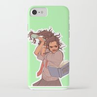 hermione iPhone & iPod Cases featuring Hermione (green) by batcii