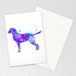 Chesapeake Bay Retriever Watercolor Painting Stationery Cards