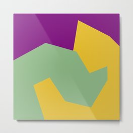 Minimalism Abstract Colors #15 Metal Print
