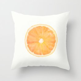 Naranja Throw Pillow