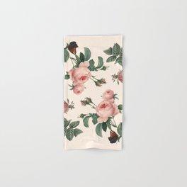 Rose Garden Butterfly Pink Hand & Bath Towel