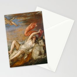 The Rape of Europa (Titian) Stationery Cards