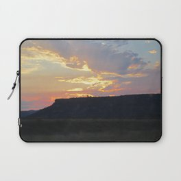 Sunset behind Table Rock in Oregon Laptop Sleeve