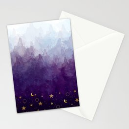 A Sea of Stars Stationery Cards