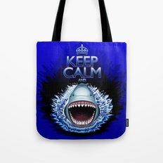 Keep Calm and...Shark Jaws Attack! Tote Bag