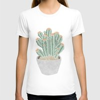 cactus T-shirts featuring Cactus by Veils and Mirrors