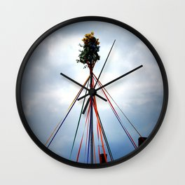 Top Of The Maypole Wall Clock