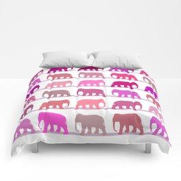 Elephants Pink Comforters