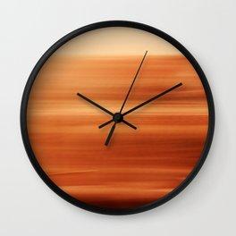Regaining Lost Ground Wall Clock
