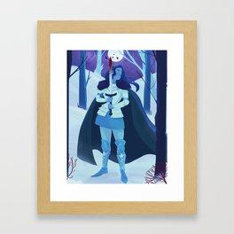 The Raven Knight Framed Art Print
