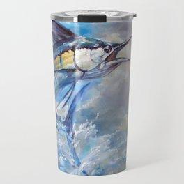 Sailfish and Frigate [Cropped] Travel Mug