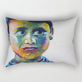 Nepali Boy Rectangular Pillow