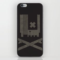 Nes Skull iPhone & iPod Skin