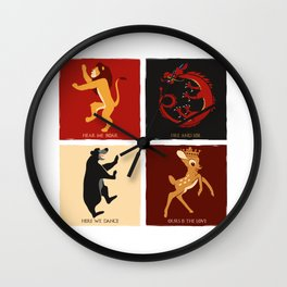 House of D. Wall Clock