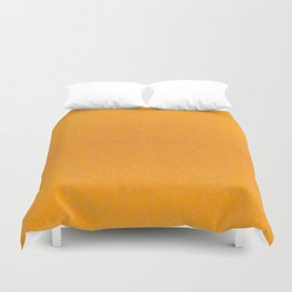 Yellow orange material texture abstract Duvet Cover