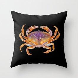 Dungeness crab Throw Pillow