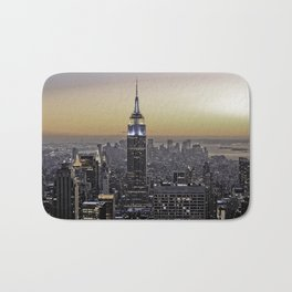 NYC City Scape - New York Photography Bath Mat