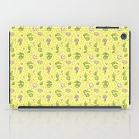digimon iPad Cases featuring Leafmon and Roses by Kiriska