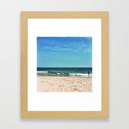 Summer at the Jersey Shore Framed Art Print