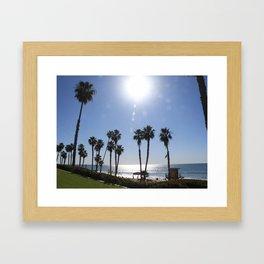 CALIFORNIA WINTER Framed Art Print