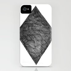 Graphite Diamond iPhone (4, 4s) Slim Case