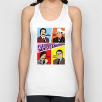 will ferrell Tank Tops featuring The Newsteam - Anchorman by Buby87