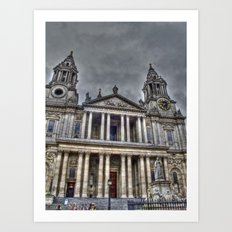 St. Paul's Cathedral, London Art Print