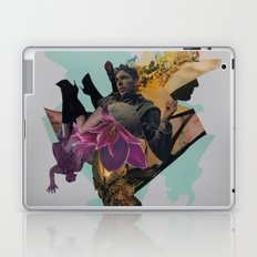 Daddy,There Are Ghosts In Your Glasses Laptop & iPad Skin
