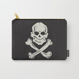 Jolly Roger pirate flag Carry-All Pouch
