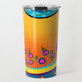 Blazing Blooms Travel Mug