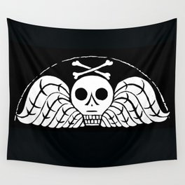 Death's Head Wall Tapestry