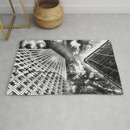 Canary wharf  London Rug