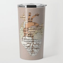Sound Of My Heart Travel Mug