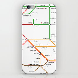 There And Back Again iPhone Skin
