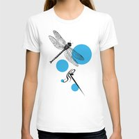 dragonfly T-shirts featuring Dragonfly by Ben Stevens