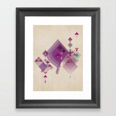 Abstract illustrations Framed Art Print