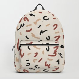 Random Brush Stroke Backpack