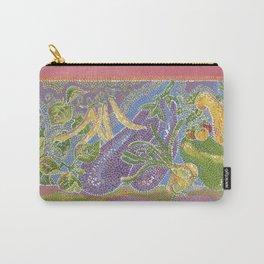 Pointillist Veggie Garden Carry-All Pouch