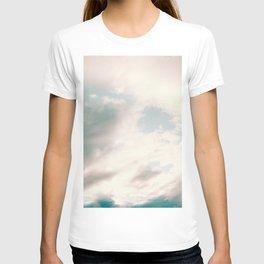 The Blues | Deep blue sky clouds photography T-shirt