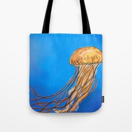 The Miraculous creature called a Jellyfish Tote Bag