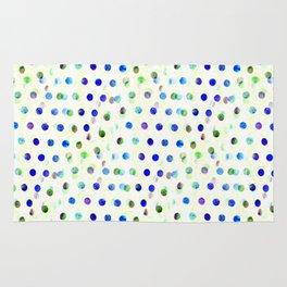 Blue/Green Dotty Rug