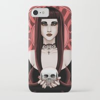 gothic iPhone & iPod Cases featuring Gothic by DarkElve