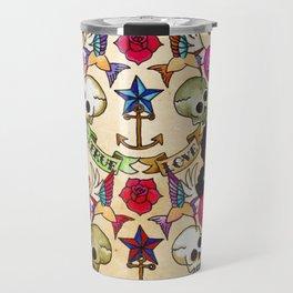 Nautical Tattoos Travel Mug